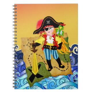Cuaderno del chica del pirata