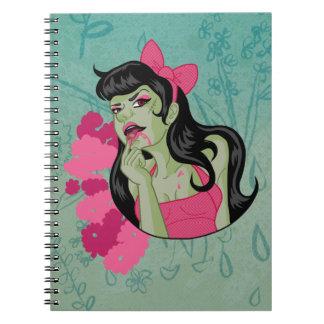 Cuaderno del chica del zombi
