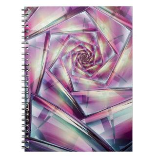 Cuaderno del choque del vértigo