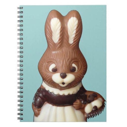 Cuaderno del conejito de pascua 3D