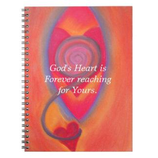 Cuaderno del corazón de dios