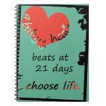Cuaderno del corazón del bebé