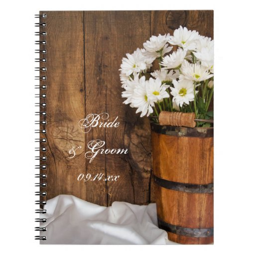 Cuaderno del cubo y del boda del país de las marga