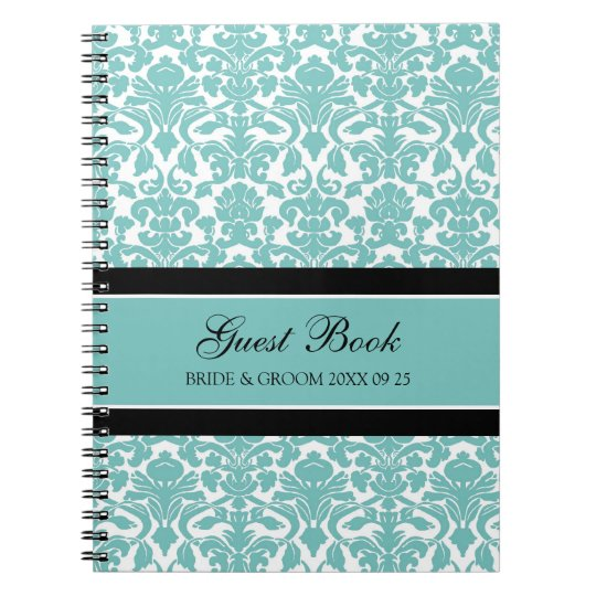 Cuaderno del damasco del trullo del libro de visit