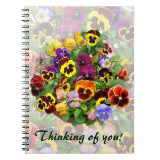Cuaderno del del arreglo del pensamiento