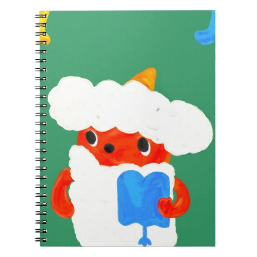 Cuaderno del demonio del bebé