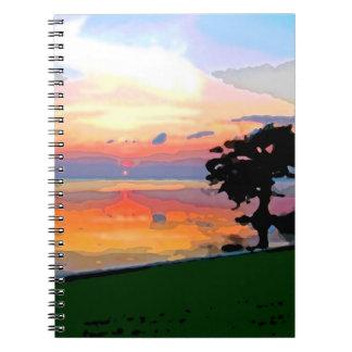 Cuaderno del derramamiento de Sun