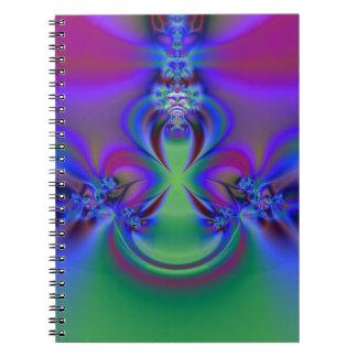 Cuaderno del derrame de petróleo