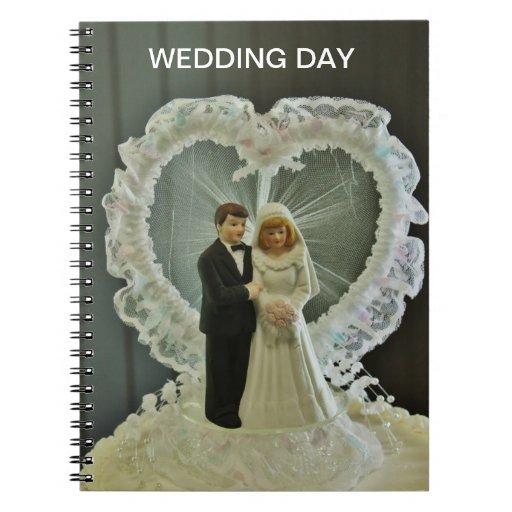 Cuaderno del día de boda