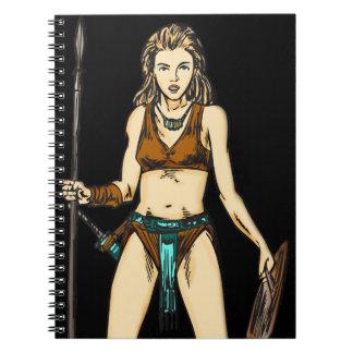 Cuaderno del diario de las mujeres del Amazonas