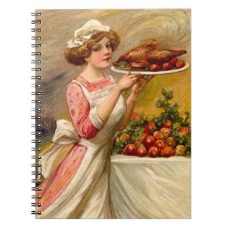 Cuaderno del diario de las recetas de la receta de