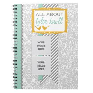 Cuaderno del diario del bebé