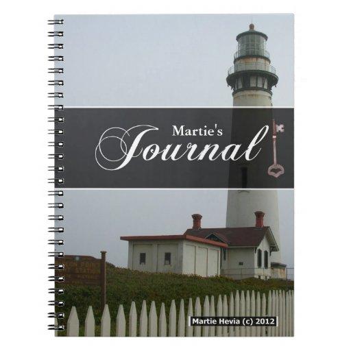 Cuaderno del diario - faro