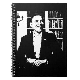 Cuaderno del diseño de Barack Obama