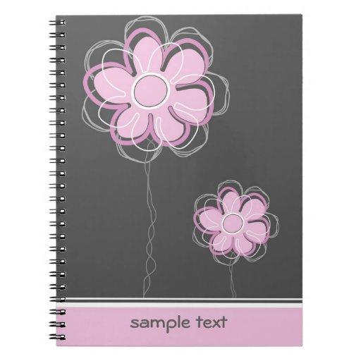 Cuaderno del diseño floral