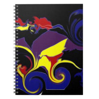 Cuaderno del diseño gráfico