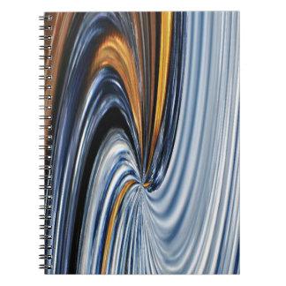 Cuaderno del diseño gráfico de la cremallera del
