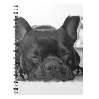 Cuaderno del dogo francés