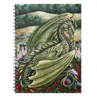 Cuaderno del dragón del Peridot