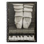 Cuaderno del dúo del ballet del piano