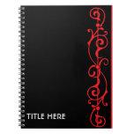Cuaderno del ébano de Tendrillon (rubí)