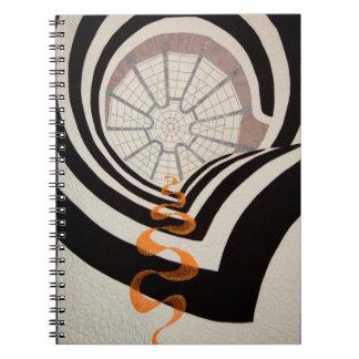 Cuaderno del edredón del techo de Guggenheim