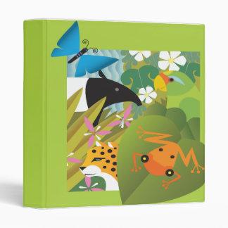 Cuaderno del ejemplo de los animales salvajes del