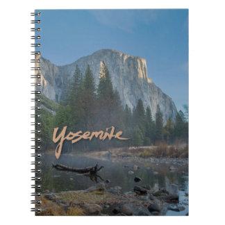 Cuaderno del EL Capitan Yosemite