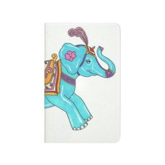 Cuaderno del elefante del carrusel
