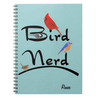 Cuaderno del empollón del pájaro