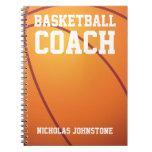 Cuaderno del entrenador de béisbol