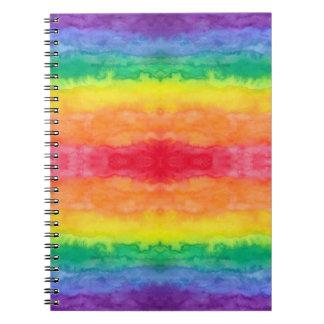 Cuaderno del espejo del arco iris