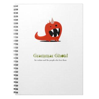 Cuaderno del espíritu necrófago de la gramática