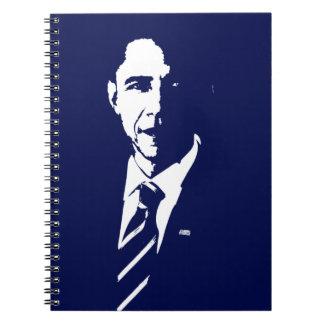 Cuaderno del esquema de Barack Obama