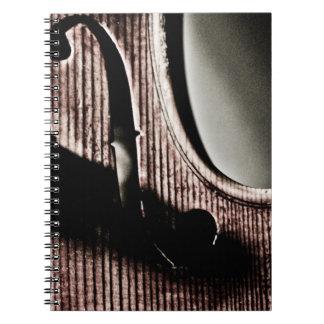 Cuaderno del F-Agujero del violín