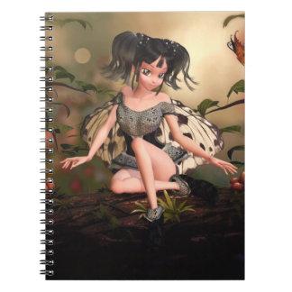 Cuaderno del Faerie de la mariposa de Li'l
