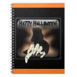 Cuaderno del feliz Halloween