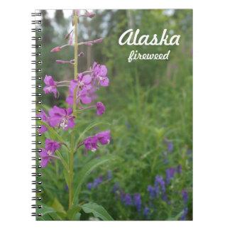 Cuaderno del Fireweed de Alaska