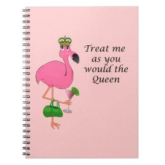 Cuaderno del flamenco de la reina