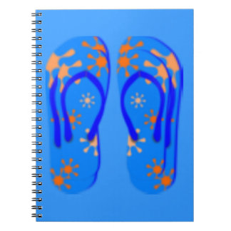 Cuaderno del flip-flop