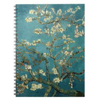 Cuaderno del flor de la almendra