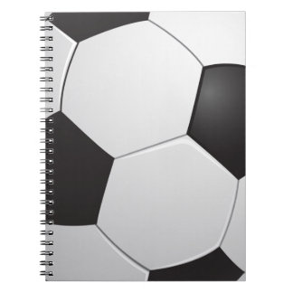 Cuaderno del fútbol del fútbol
