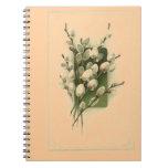 Cuaderno del Gatito-Sauce de los Wildflowers del v