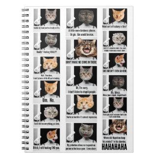 cuaderno del gato
