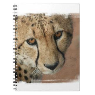 Cuaderno del gato del guepardo