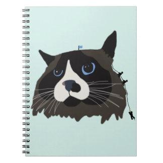 "Cuaderno del ""Gato-mandu que sube"""
