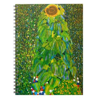 Cuaderno del girasol de Gustavo Klimt