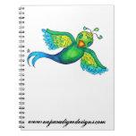 Cuaderno del gorrión del quetzal