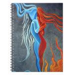 Cuaderno del hielo del fuego N