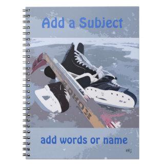 Cuaderno del hockey